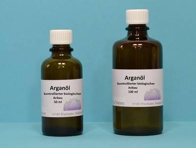 Arganöl kontrollierter biologischer Anbau